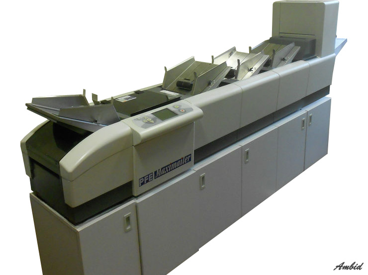 PFE Maximailer 3 feedtower 3 inserts collator